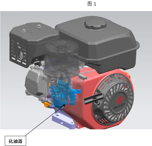 Gasoline engine carburetor maintenance and maintenance