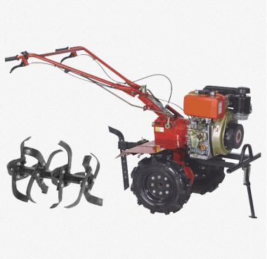 Diesel power tiller